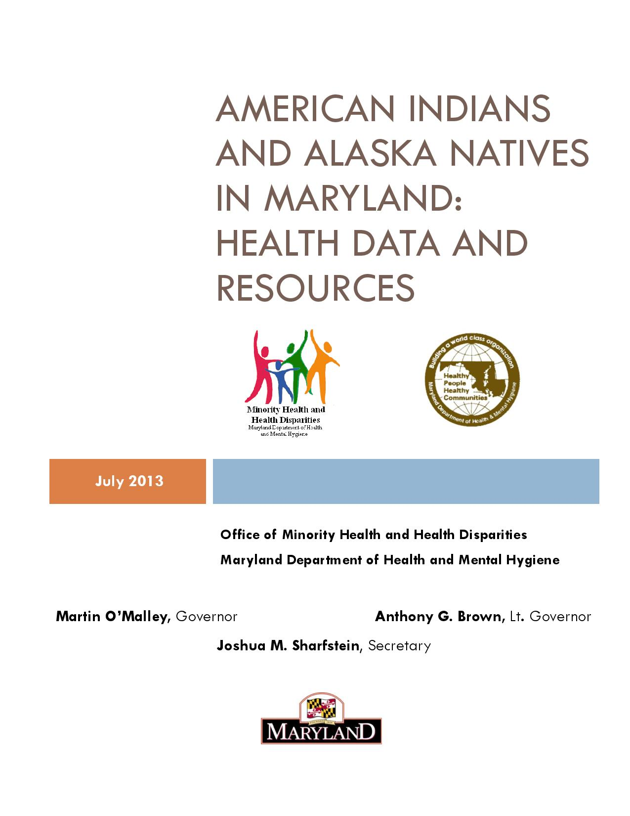 Maryland American Indian Data Report 072313-page-001.jpg