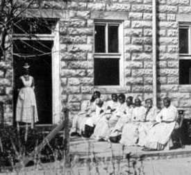 African American Female Patients at Spring Grove
