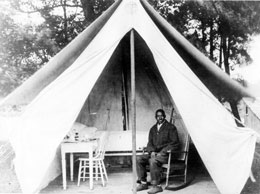 African-American Male Patients Often Lived in Tents in 1900